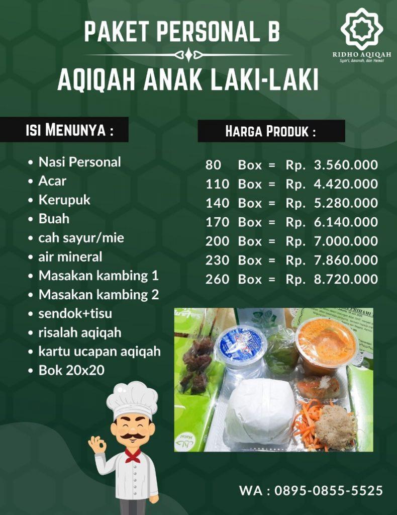 personal A paket aqiqah jogja murah, paket aqiqah di bantul aqiqah jogja terbaik