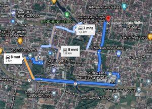 Jalan Masjid Besar Mataram, Ledok KG 3. No. 845, Purbayan, Kec. Kotagede, Kota Yogyakarta, Daerah Istimewa Yogyakarta 55173